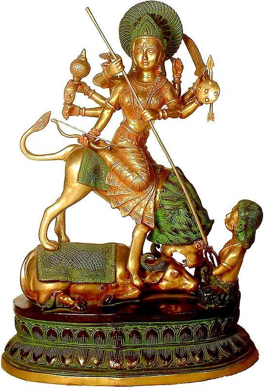 Large Size  Mahishasura Mardini