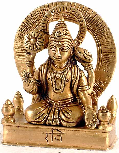 Ravi or the Sun (The Nine Planets (Navagraha))
