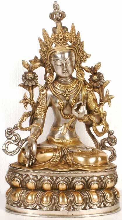 Tibetan Buddhist Deity The White Tara