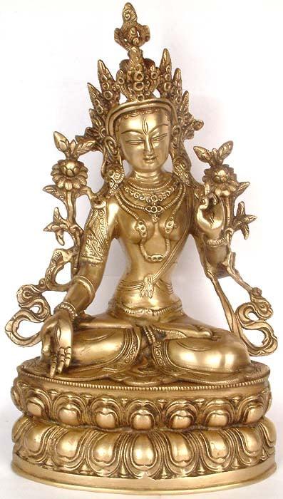 Tibetan Buddhist Deity- The White Tara
