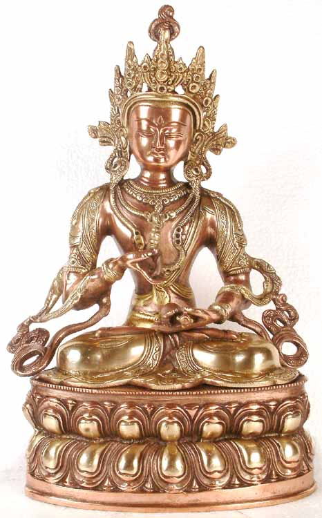 (Tibetan Buddhist Deity) Vajrasattva - The Divine Priest