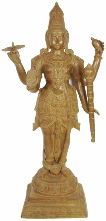 Large Size Vishnu, In His Own Words
