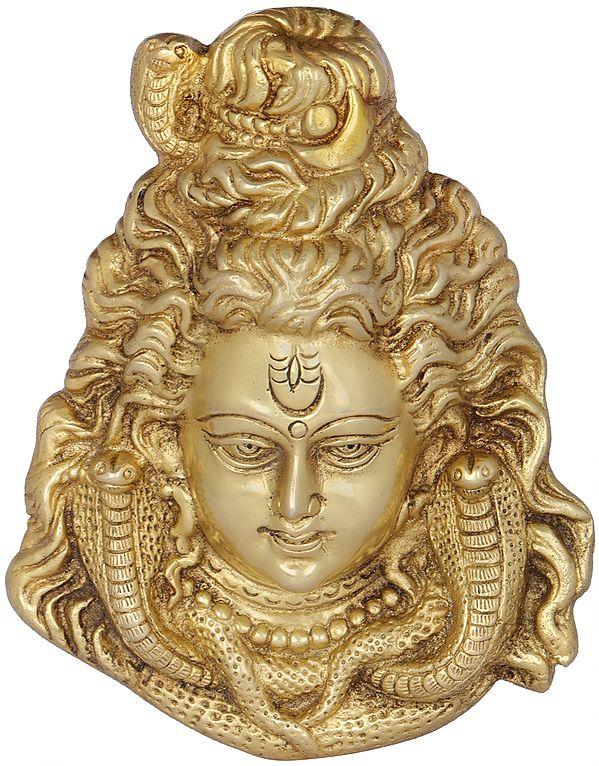Shiva Wall Hanging Mask