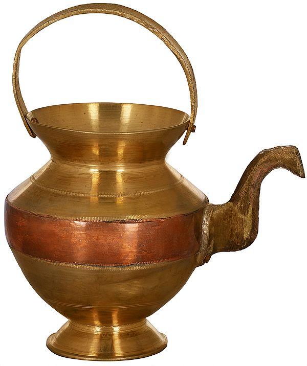 Ganga Jamuna Arghya Pot (Kettle)