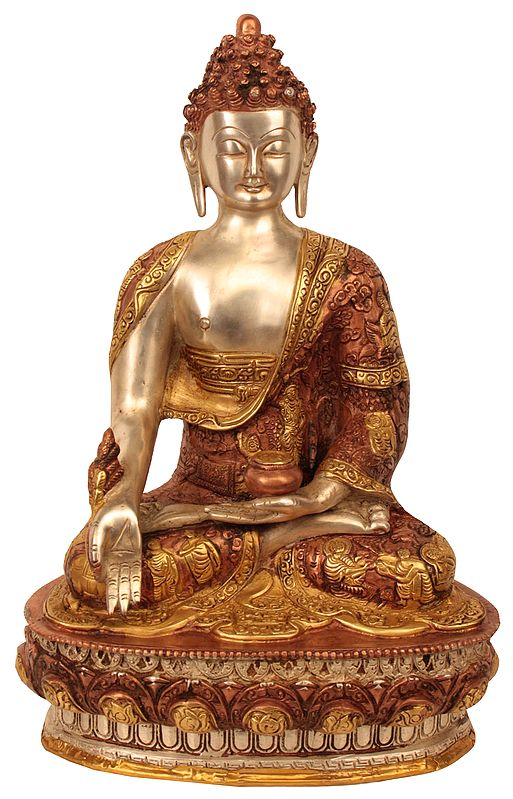 The Medicine Buddha (Robes Decorated with the Scenes from His Life)