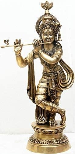 Large Size Krishna Playing on Flute