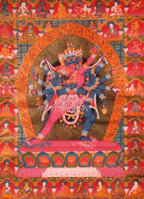 Chakrasamvara in Yab-Yum