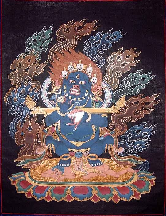 Mahakala Panjaranatha (Lord of the Pavilion)