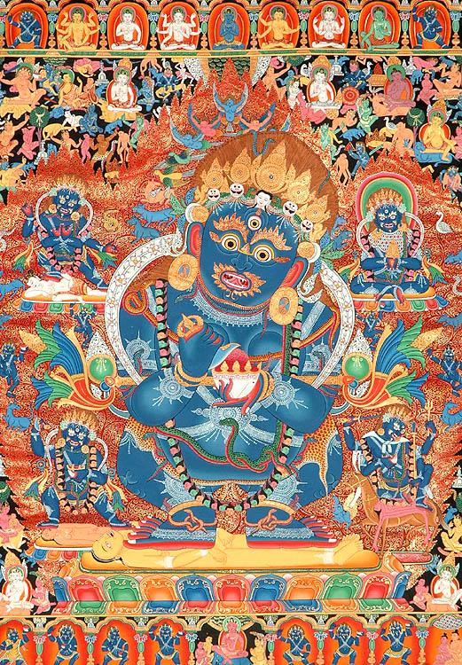 Mahakala as The Supreme Protector of Buddhist Monasteries