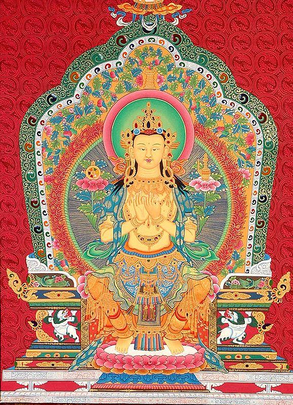 Maitreya: The Charming and Graceful Bodhisattva