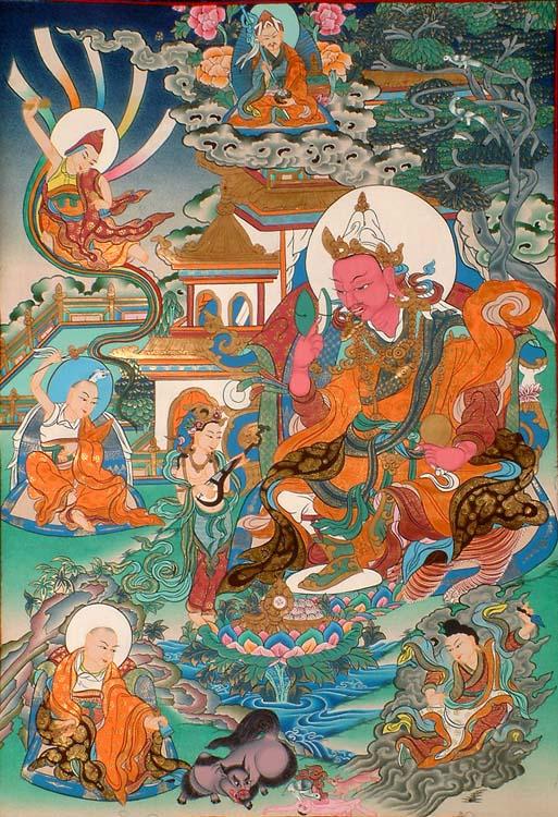 Padmasambhava as King Padmaraja (The Manifestations of Guru Padmasambhava)