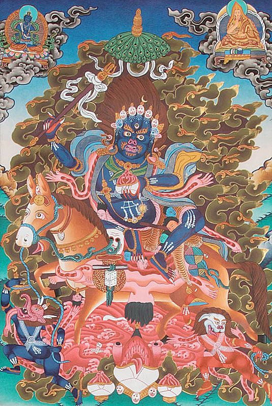 Palden Lhamo: The Protectress of the Dalai Lama (And The Chinese (13th to 20th Century AD))
