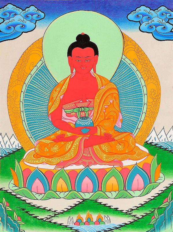 Amitabha: The Buddha who Gives a Long Life -Tibetan Buddhist