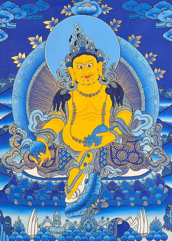 Tibetan Buddhist Kubera