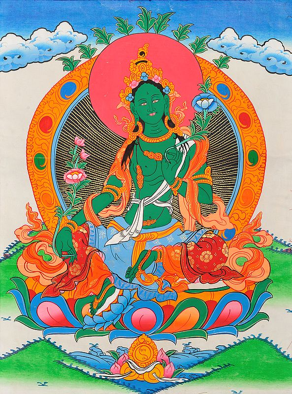Green Tara - The Beautiful Tibetan Buddhist Goddess