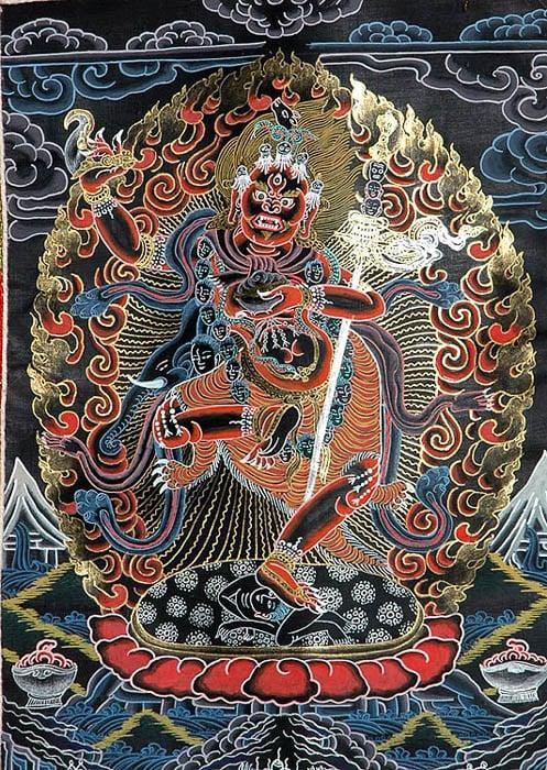 The Female Buddha Vajravarahi (Delusion Tamed by Wisdom)