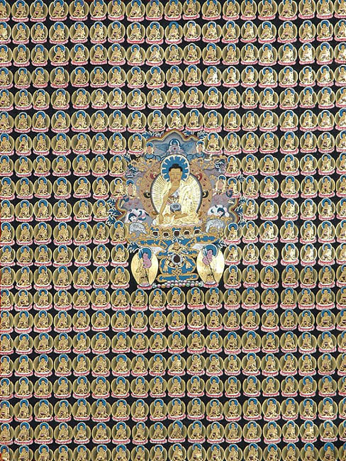 Thousand Buddhas (Story of The Thousand Schoolboys)
