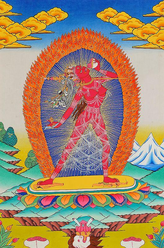 Tibetan Buddhist Goddess Vajrayogini