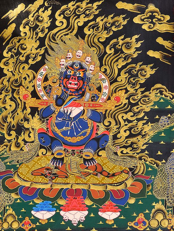 Mahakala Panjaranatha (Lord of the Pavilion) -Tibetan Buddhist