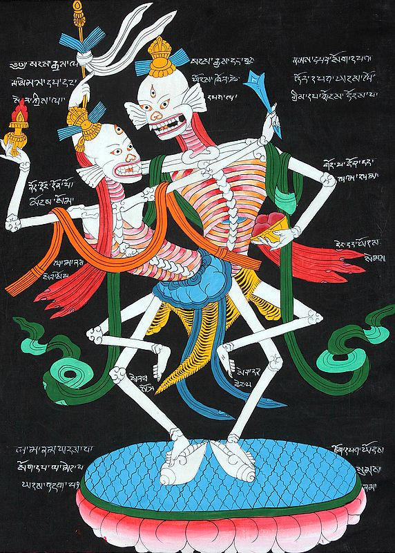 The Citipati - The Lord or Master of the Cemetery