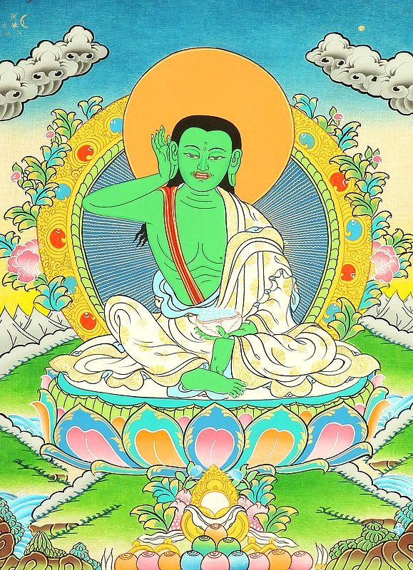 Milarepa Wearing the Meditation Belt
