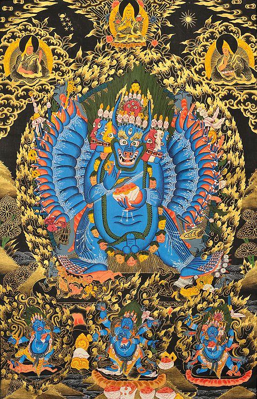 Tibetan Buddhist Solitary Hero