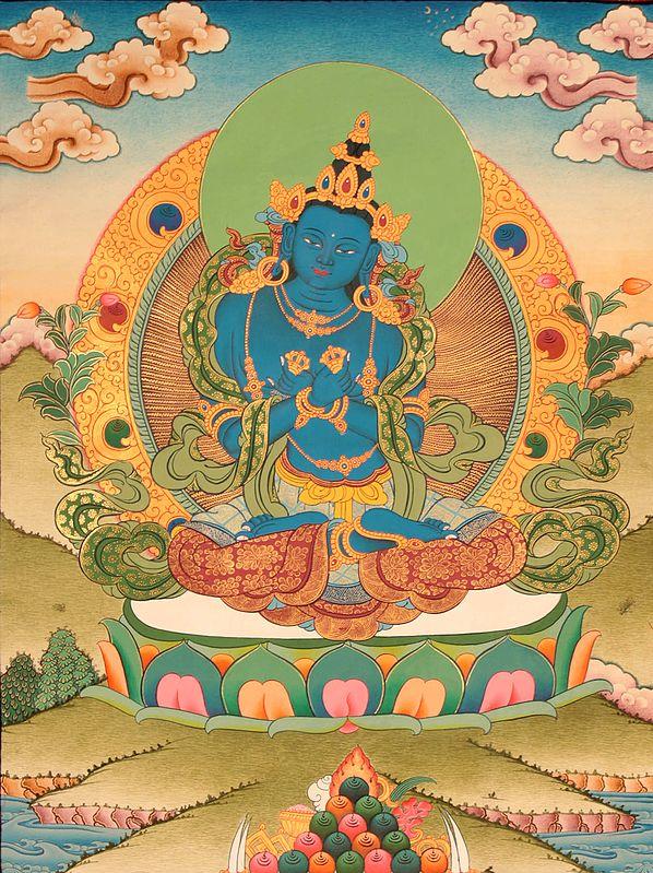 The Union of Compassion and Wisdom (Tibetan Buddhist Vajradhara)