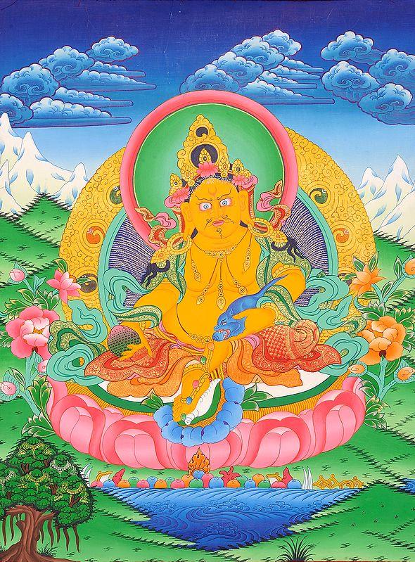 Kubera - Tibetan Buddhist God of Wealth and Prosperity