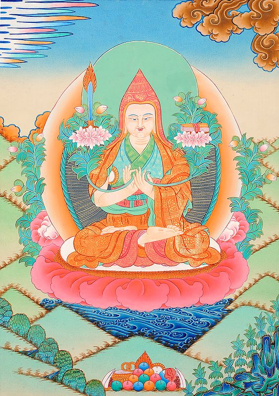 Tsongkhapa -  A Great Tibetan Buddhist Scholar Monk and Reformer of Tibetan Buddhism