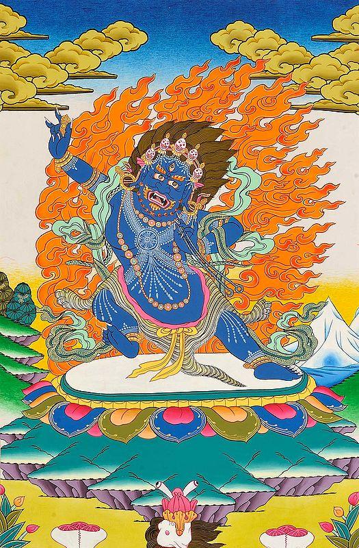 Vajrapani-Tibetan Buddhist Deity