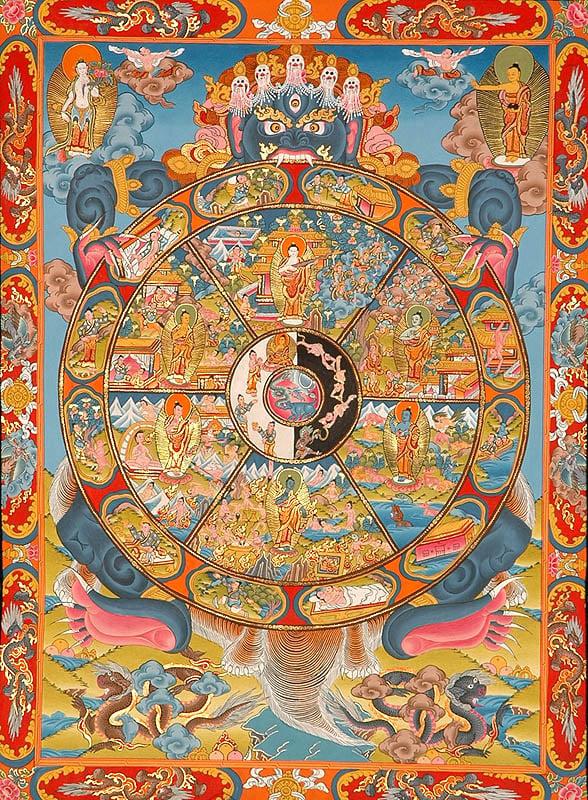 Wheel of Life (Bhavachakra)