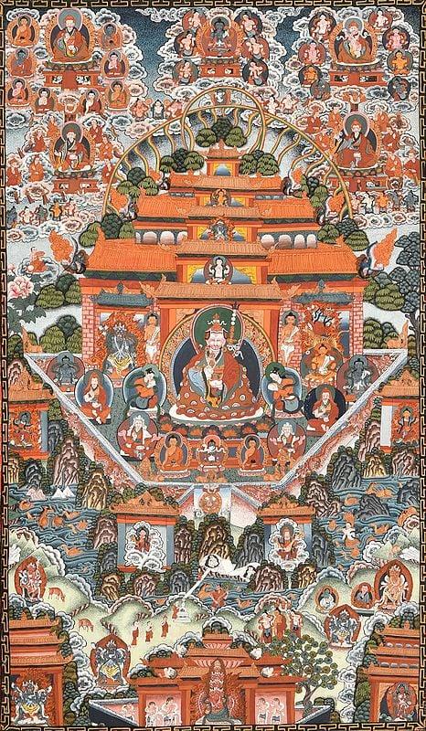 Museum Quality - Paradise of Padmasambhava (Tibetan Buddhist)