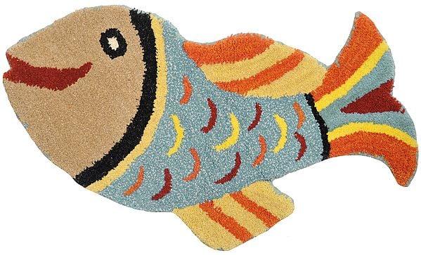 Multicolor Fish Asana from Mirzapur