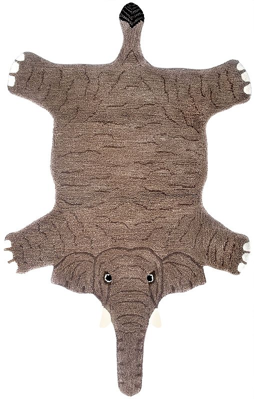 Brown Elephant Asana Mat