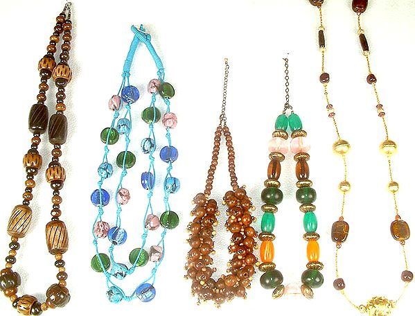 Lot of Five Necklaces