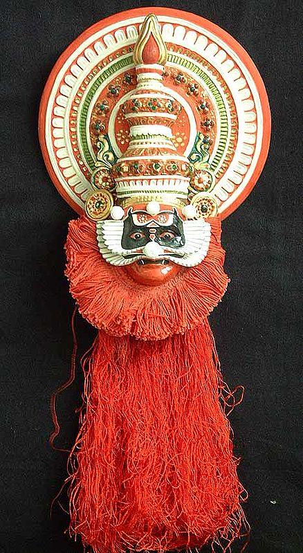 Kathakali Wall Hanging Mask