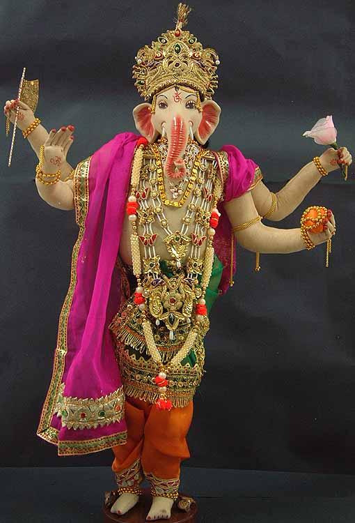 Standing Ganesha