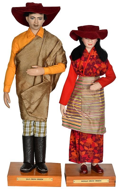 Elegant Married Couple From Sikkim