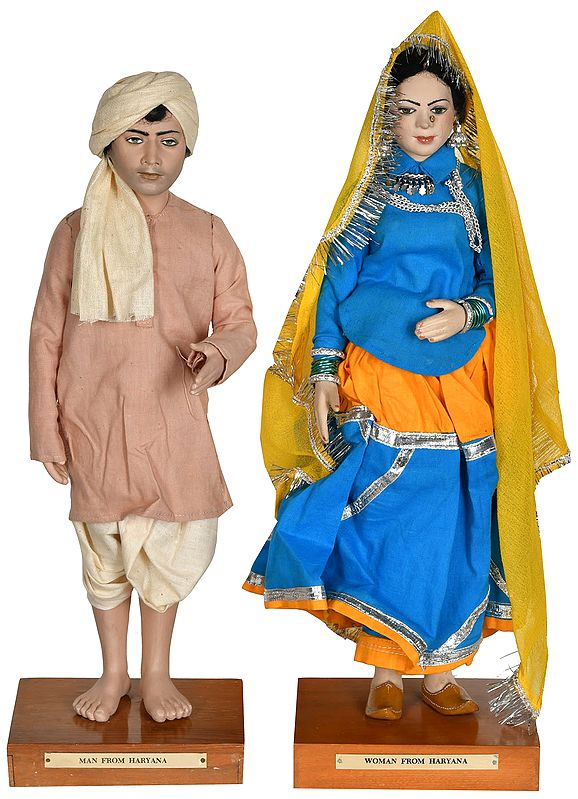 Man and Woman from Haryana