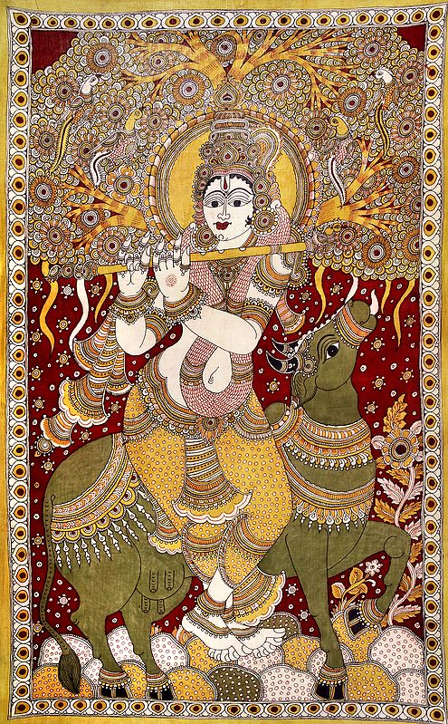 Large Size Krishna - The Divine Musician