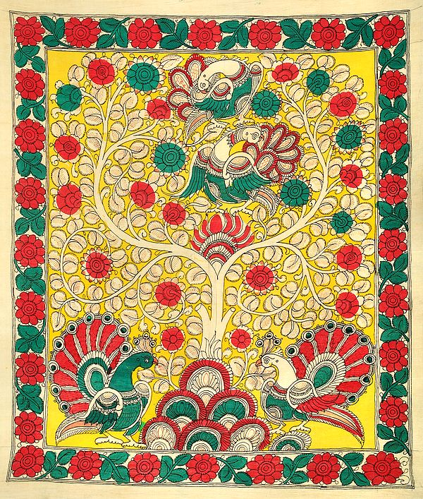 Tree of Life with Peacocks
