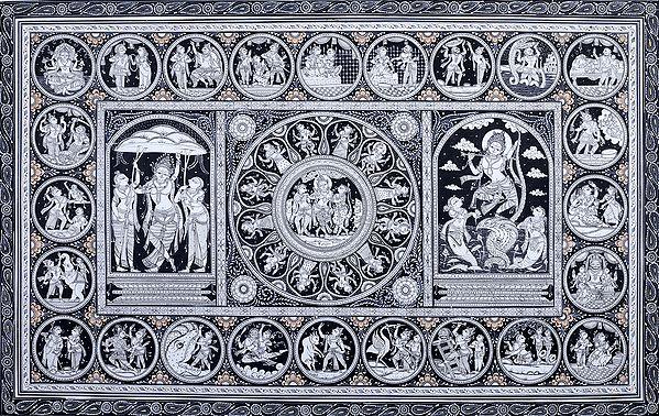 Kaliya Mardan and other Lilas of Shri Krishna