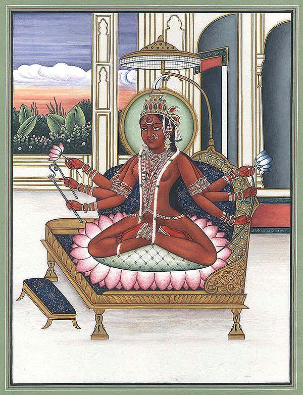 Shodashi as Tripurasundari