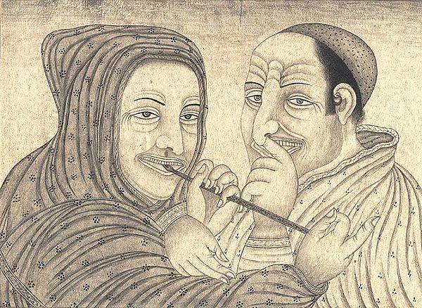 Caricatured Europeans