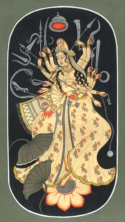Cosmic Form of Durga