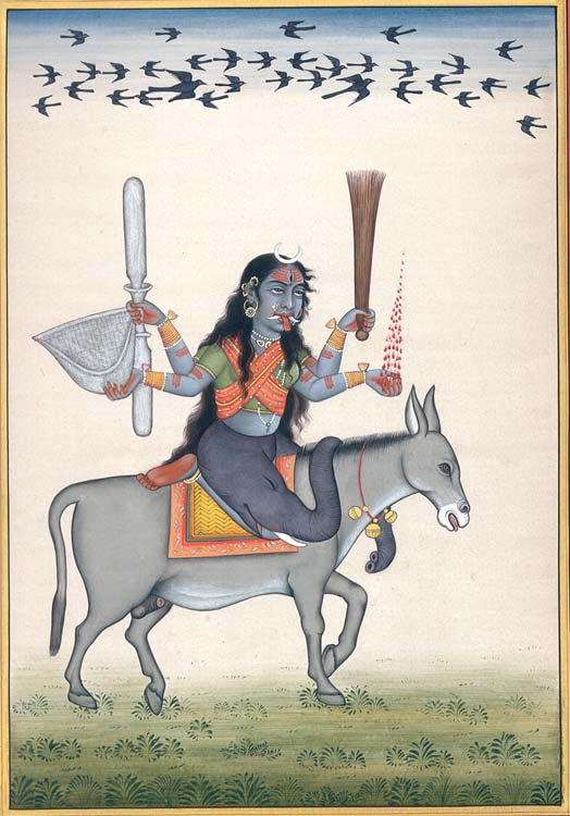 Devi Sheetali - The Goddess Who Cures Small Pox