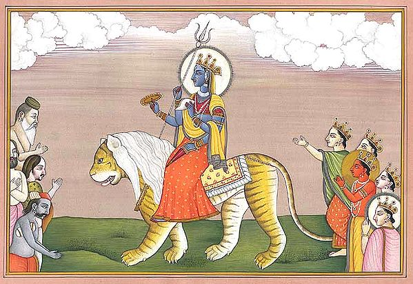 Durga as Jaya
