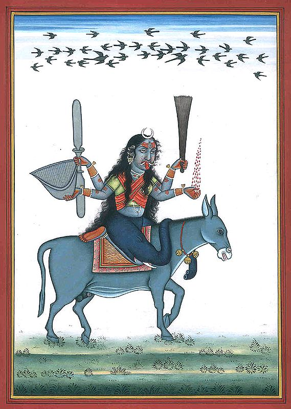 Goddess Shitala Mata - Who Cures Chickenpox