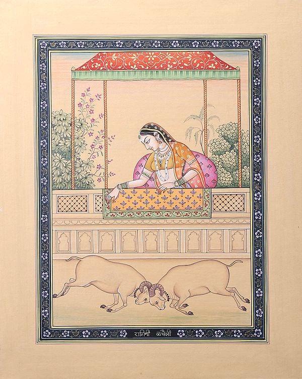 Ragini Kacheli, The Consort of Raga Dipaka