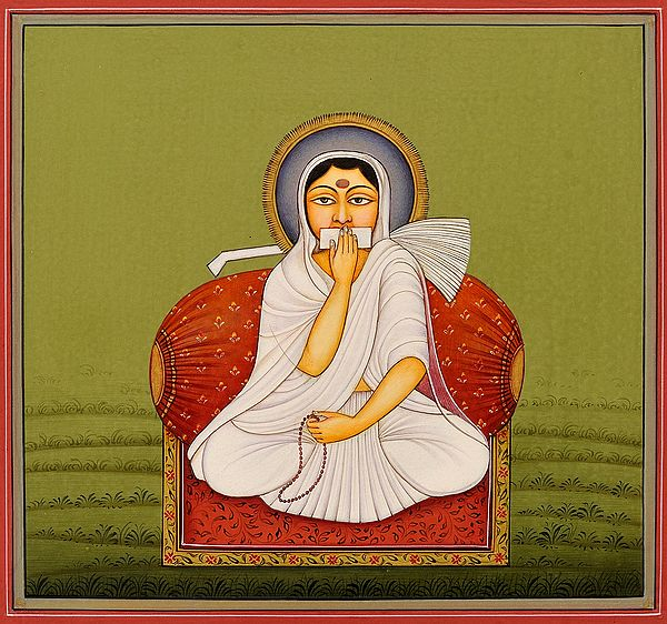 A Jain Sadhavi from Svetambara Sect